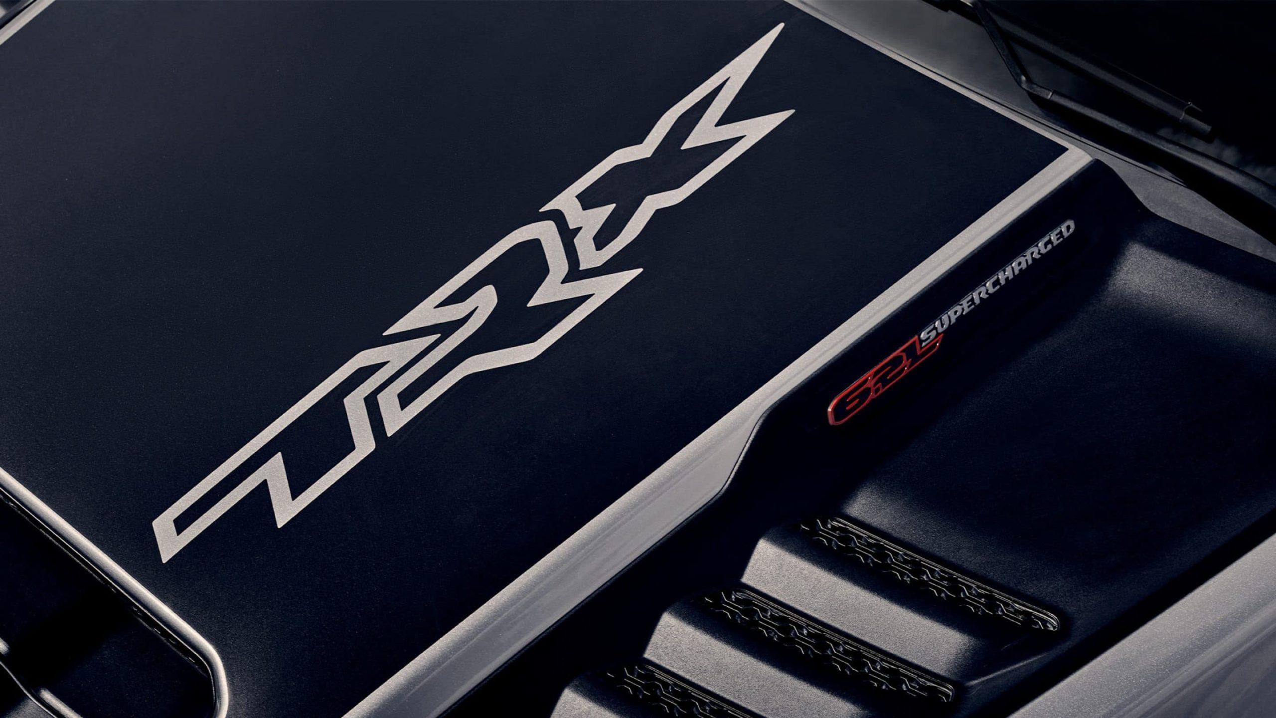 Das bereits auffällige Erscheinungsbild dieses Trucks wird durch die verfügbaren Grafiken auf der Motorhaube und der Box weiter verbessert. TRX ist unverkennbar.